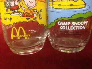 McDonald's Camp Snoopy Collections Glasses   ALL FOR $120 Windsor Region Ontario image 2