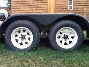 REDUCED TO $2200  DUAL AXLE CAR HAULER