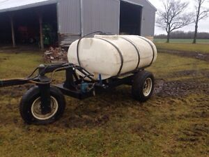 Three wheeled Water, Fertilizer Wagon