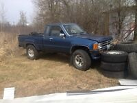 1988 Toyota 4x4 pickup saftyied . Trade or sell