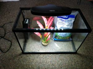 5 Gallon Aquarium Set