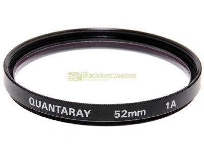 52mm. filtro Skylight 1A Quantaray. Sky light 1-A Filter.