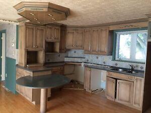 Armoires de cuisine et meuble de rangement