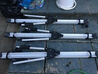 Thule roof bike rack