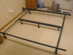 Double/Queen/King steel bed frame