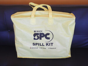 BRADY SPC ABSORBENTS UNIVERSAL SPILL KIT - NEW