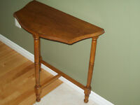 Wooden table for sale.