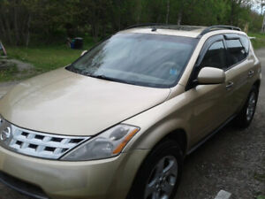 05 Nissan Murano(6cyl all-wheel drive.fully loaded.