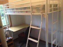 Bunk Bed with table underneath Kotara Newcastle Area Preview