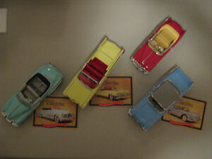Collectible Cadillac Die Cast Cars