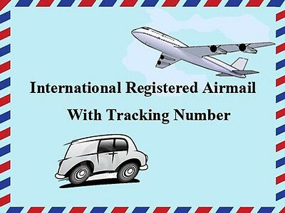 REGISTERED AIR MAIL SERVICE WITH ONLINE TRACKING NUMBER (Mail Tracking Worldwide)