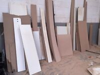Free wood, worktops, laminate