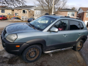 2005 Hyundai tucson price is firm