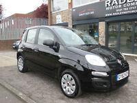 2012 Fiat Panda 1.2 8v ( 69bhp ) Pop 5DR 62 REG Petrol Black
