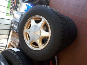 4x Used motomaster touring LXR Tires 215P/70/R15