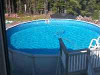 """24ft x 52"""" Above Ground Pool w/REEL -Everything Included"""