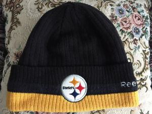 c777c5cd3a6 Pittsburgh STEELERS Sport Knit Toque Hat Reebok ☆Brand NEW!☆