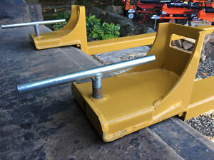 clamp to bucket PALLET FORKS, 2 sizes available, FREE SHIPPING St. John's Newfoundland image 9