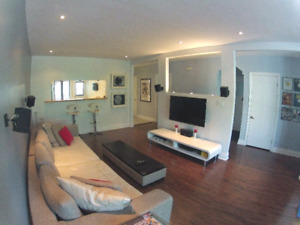 3 bed apt appliances included**Apt 3 chambres electros inclus!!