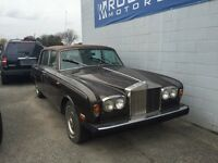 1975 ROLLS ROYCE SILVER SHADOW - 38,000 KMS - OPEN TO TRADES