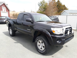 "2008 Toyota Tacoma Access Cab V6 4x4 "" BLACK BEAUTY!! """