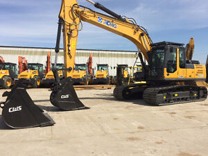 Used 2015 XCMG XE210CU 21 Tonne Excavator For Sale, 750 hours