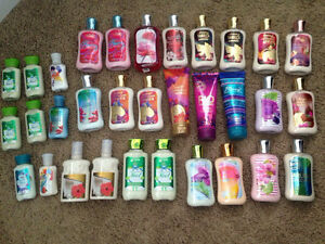 JUST A LITTLE BATH AND BODY WORKS!! all brand new & unopened