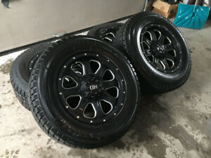 Mags & pneus hiver NEUF Fast HD 17'' pour Nissan Frontier/Xterra