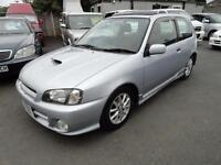 1999 Toyota Starlet Glanza V 1300 TURBO SUNROOF FRESH IMPORT 3dr