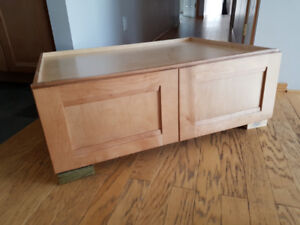 REDUCED TO SELL Brand New Kraft Maid Over Fridge Cabinet