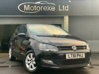 2011 Volkswagen Polo 1.4 Match DSG 5dr Hatchback Petrol Automatic