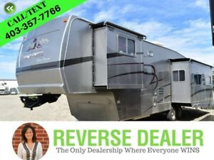 2003 Forest River Ceder Creek  M-36RLTS  36 Feet, GVWR 13,770 lb