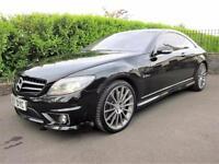 Mercedes-Benz CL63 AMG 6.2 7G-Tronic Obsidian Black