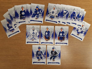 29 cards from the 2017 Maple Leafs Centennial card set
