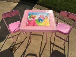 Disney Princess Kids Table