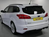 2017 Ford Focus 1.0 EcoBoost 125 ST-Line 5dr Petrol white Manual