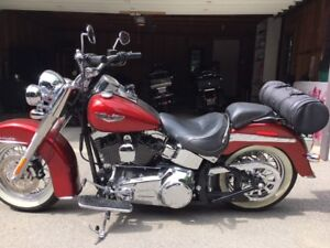 Showroom condition Harley Deluxe