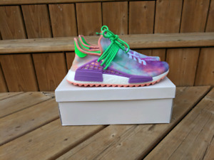 Pharrell Williams human race nmd chalk Coral