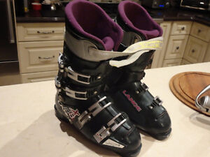 Lange RX8.5 Deep Forest Green Unisex Ski Boots-Act foot Size 9""