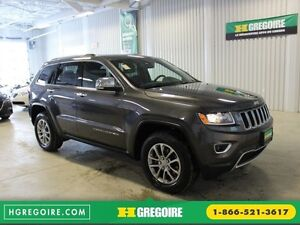 2016 Jeep Grand Cherokee Limited AWD A/C Gr-Électrique (Cuir-Toi