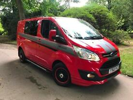 Ford Transit RS Custom 2.2TDCi 14k Miles,270 LIMITED Modified 1Own,NO VAT van