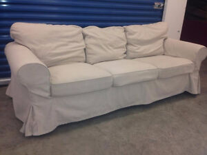 Beige EKTORP Couch -  Delivery