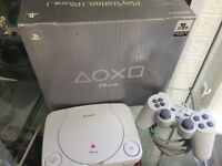 PlayStation 1 Boxed Console