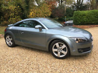 2008 57 Audi TT Coupe 2.0T FSI S Tronic 200 BHP 6 SPEED AUTO PADDLESHIFT 54K FSH