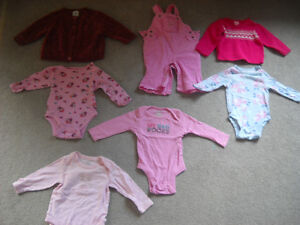 6 - 12 month baby girl clothing