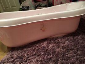 Baby bath pink fab condition