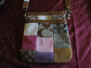 Coach Patchwork Crossbody Bag