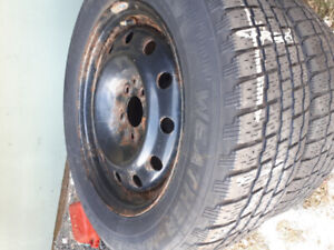 Winter Tires and Rims For Sale!!! 225/60/R16 (5x4.5)