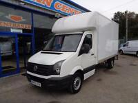 2015 VOLKSWAGEN CRAFTER CR35 TDI LUTON BOX WITH TAIL LIFT - UNDER VW WARRANTY TI