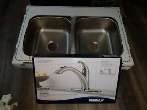 New kitchen sink & faucet